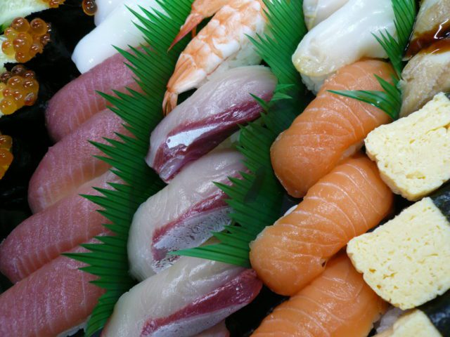 修了式お寿司