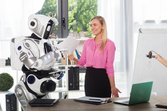 人とロボット