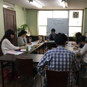 授業風景in向ヶ丘教室