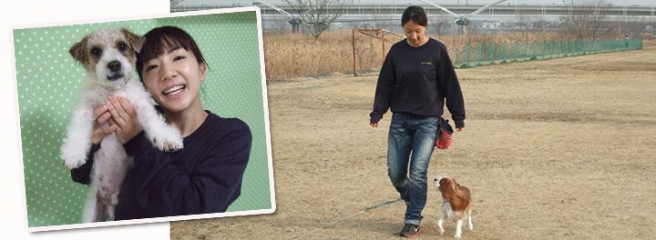 犬の保育園スタッフ